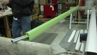 A New Boom for a Pacific Seacraft 24. Primer.
