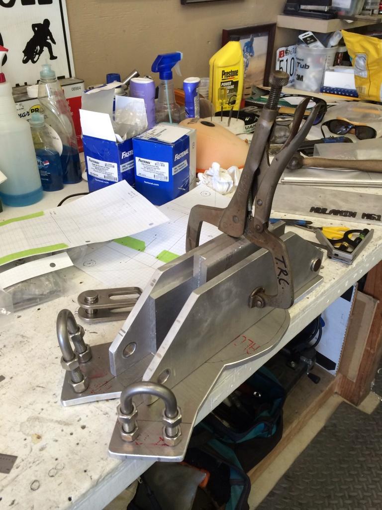 Custom Mast Head. Designed by The Rigging Company. Hinckley 40 Bermuda Sloop