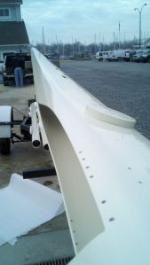 Imron Custom Painted Sailboat Mast