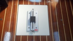 A New Mast Step Properly Installed. Ready for the Mast. Yamaha 36