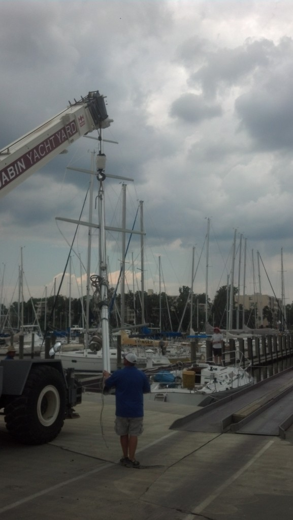 Frers 38. Rig Up!