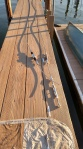 A New Backstay using Compact Strand 1x19, Hayn Hi-mod Failsafe Insulators. Maintaining the Oyster Yachts Factory Spec's