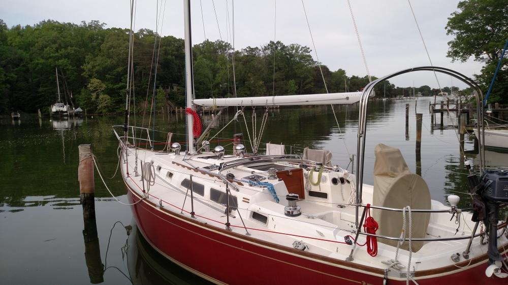 Sabre 38 rigging re-fit