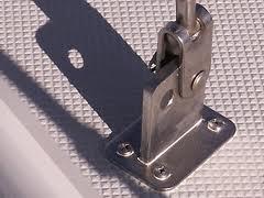 Sealed chainplate
