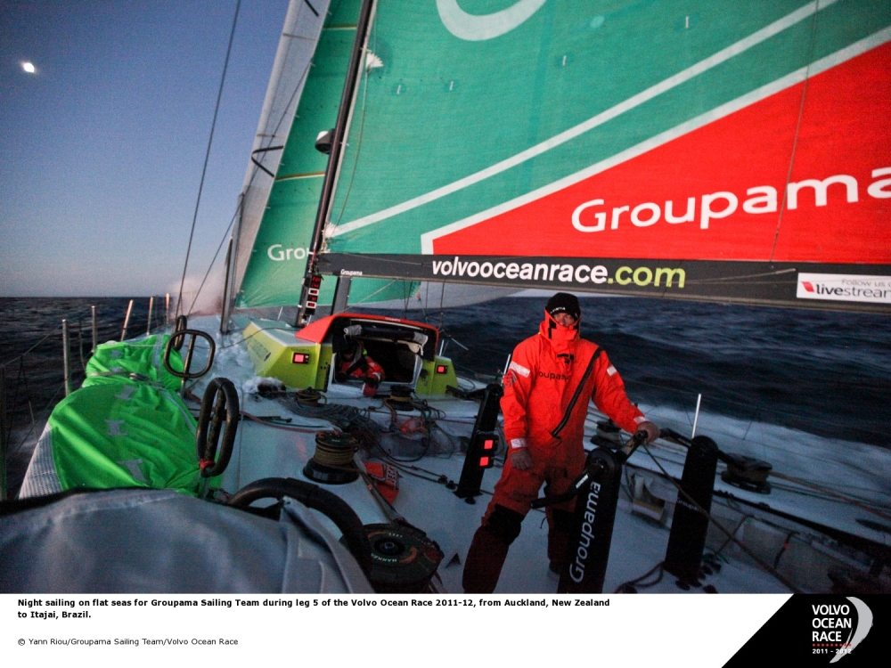 Volvo Ocean Race -Groupama