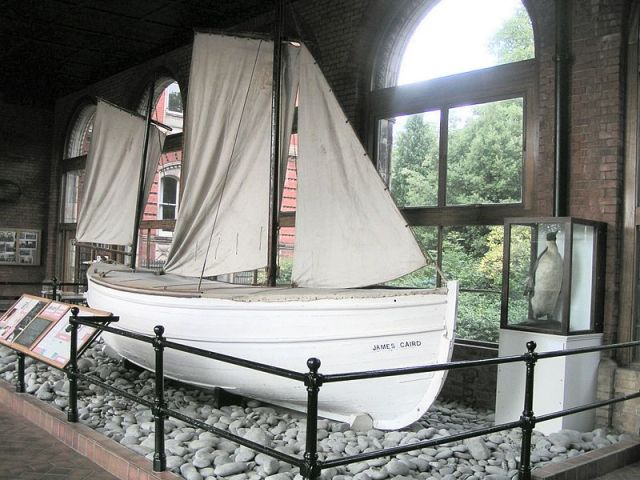 The James Caird, Preserved at Dulwich College, U.K.