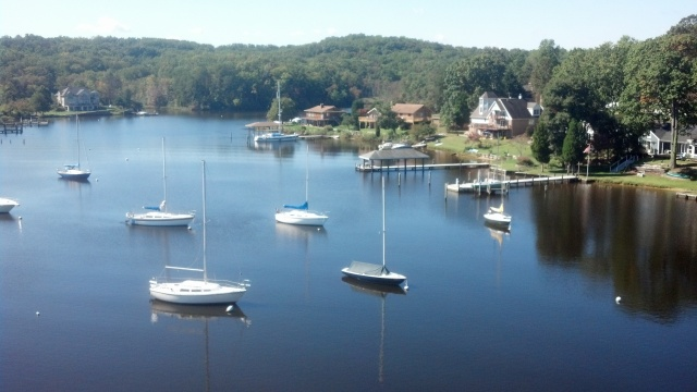 Severn River Round Bay Sailboats
