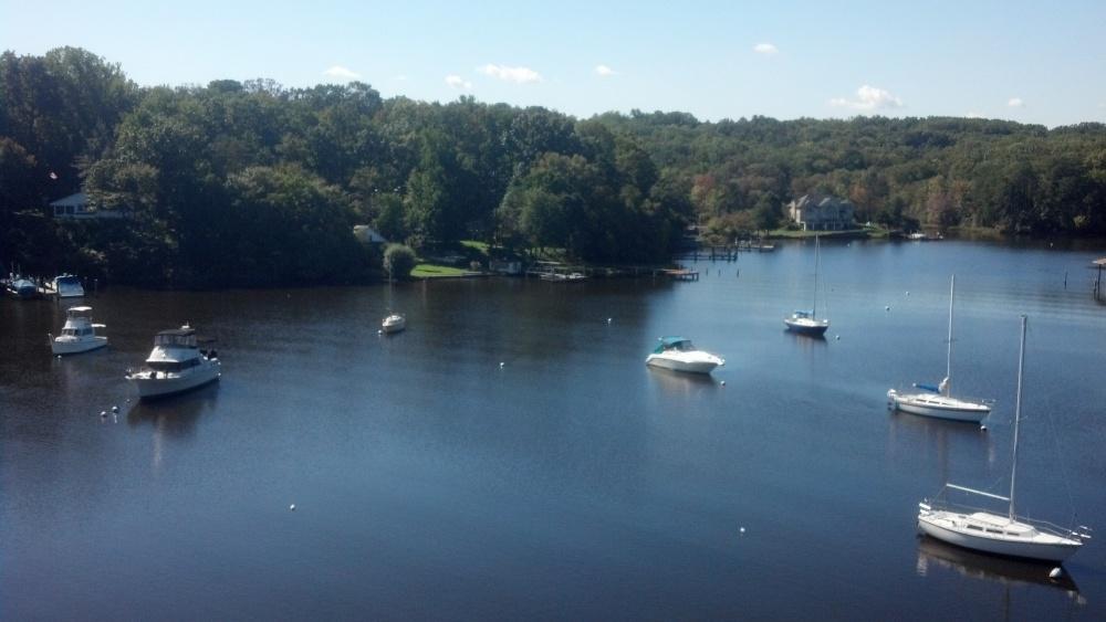 Views From Aloft A sailboat Mast