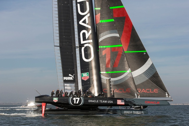New Oracle Racing AC72
