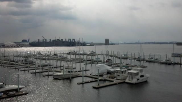 Baltimore Inner Harbor Sailboat