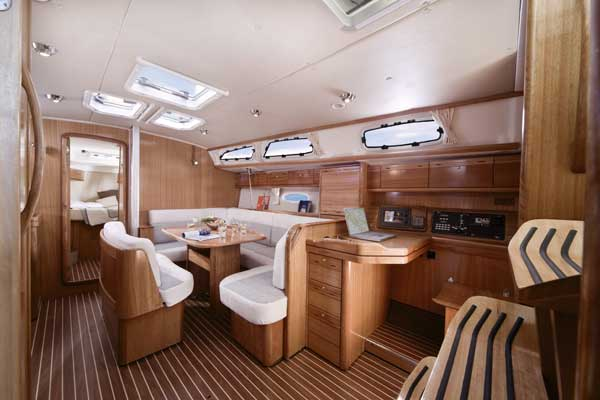 Bavaria Yachts Interior, German Engineering