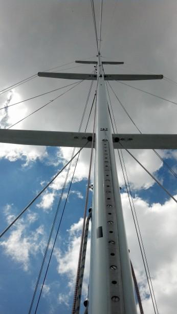 Frers 38 mast