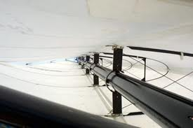 Inside the Omer Wing sail
