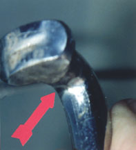 The 'Armpit' of a 'T' Terminal