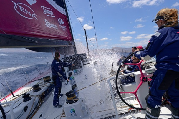 Team SCA Volvo Ocean Race ALL GIRLS TEAM
