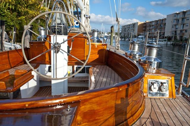 clasiic yachts with modern equipment Pasha 55