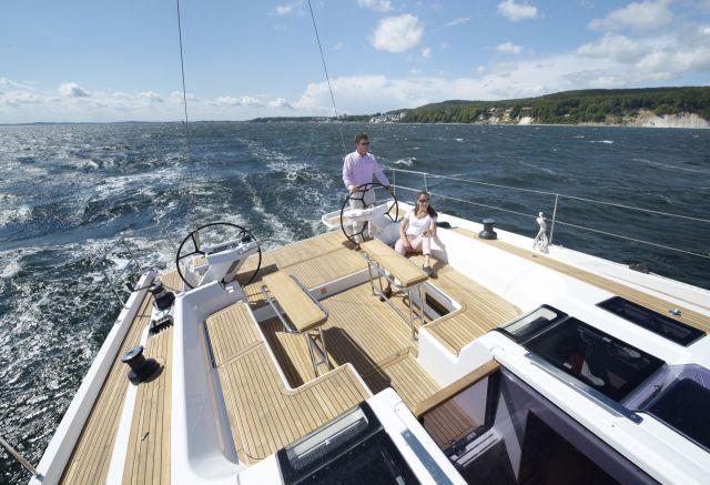 Hanse yachts cockpit lay out