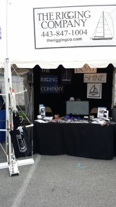The Rigging Company at the Annapolis Spring Sailboat Show