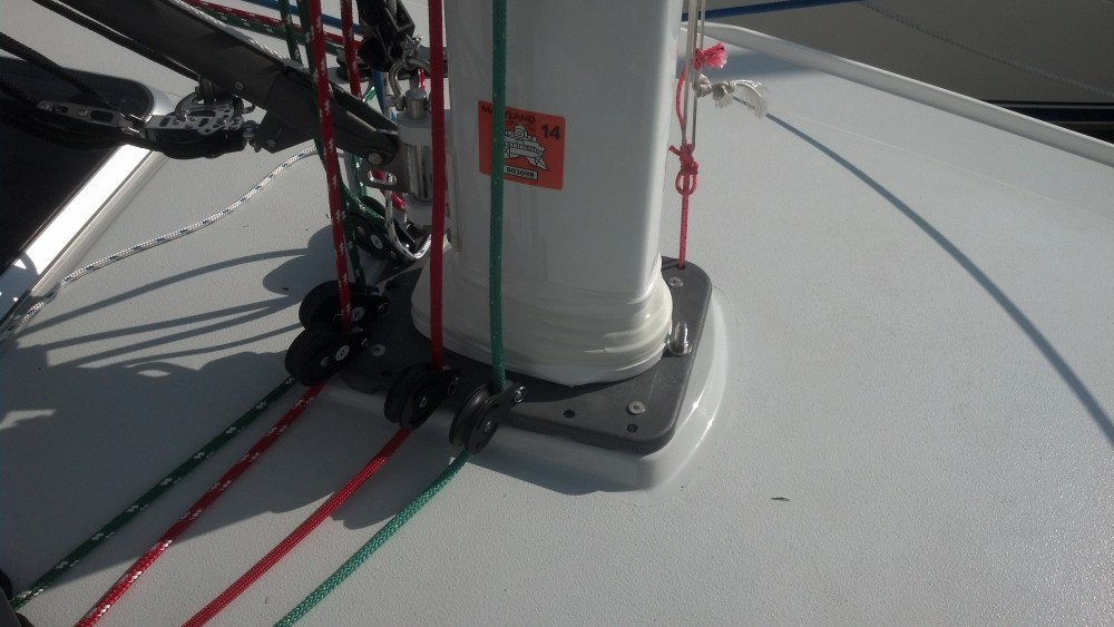 Mast Boot Done Properly