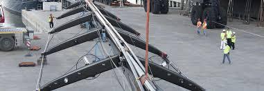 Viareggio Sailing Yacht, Worlds Largest Mast