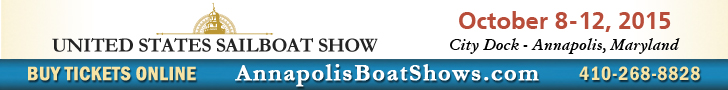 Boat show Annapolis Banner. Buy tickets online!