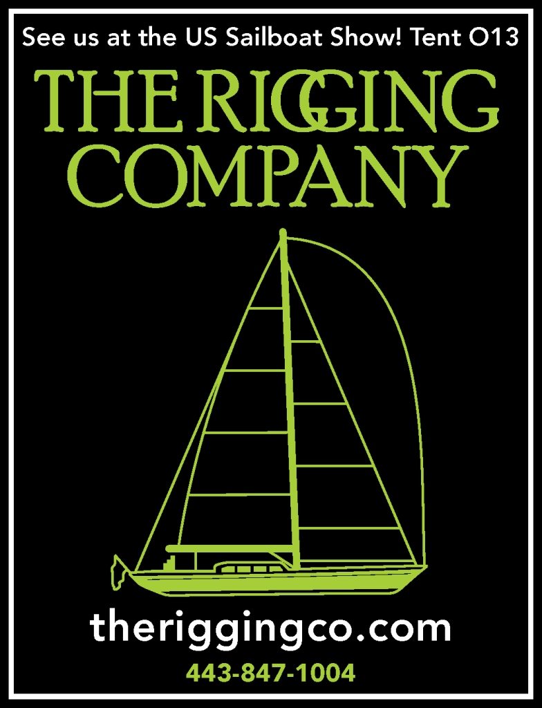 Annapolis Boat Show 2015 Sailboat Riggers. The rigging company