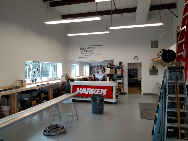The New Rigging Company. Harken blocks, travelers and furlers, Navtec Rod rigging, Hayn Rod Rigging