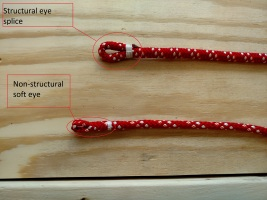Reeving Eye, Soft Eye, Flemish eye, Pull eye, Core dependent eye splice, The Rigging Company