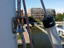 HOOD HEADSAIL FURLER. HOOD HALYARDS RETRAINER. ALL ALUUMINIUM HOOD TOP CAP SL 808