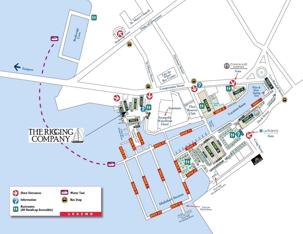 annapolis sailboat show map, united states sailboat show map, annapolis boat show 2016, boat show rigging company, 2060smodel,