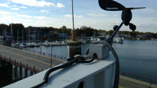 J105 masthead. Annapolis Yacht Club.