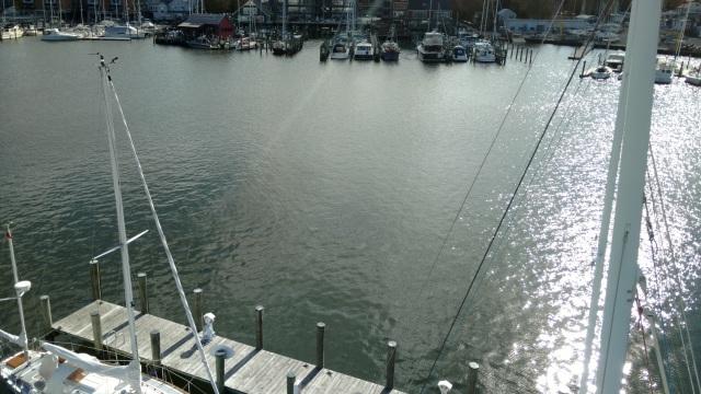 Annapolis Yacht Club. AYC. Aloft