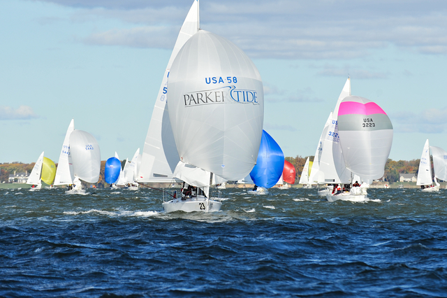 J24 East Coast Championship. Parker Tide and The Rigging Company