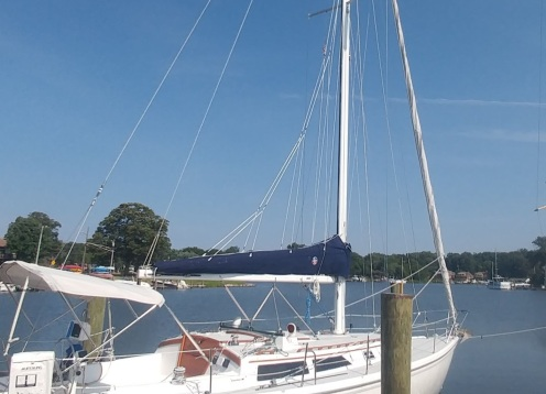Sailpack. Stack Pack. Lazy Jacks. The Rigging Company. Catalina 36'